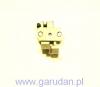 Stopka wewnętrzna kompensacyjna z prowadnikiem - rozstaw 12mm. PFAFF 1246
